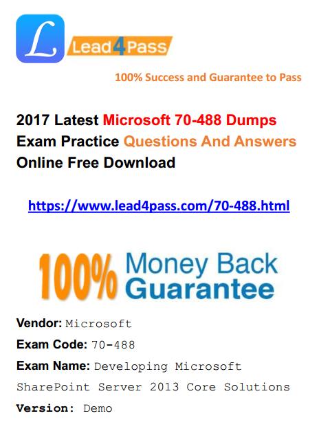 70-488 dumps