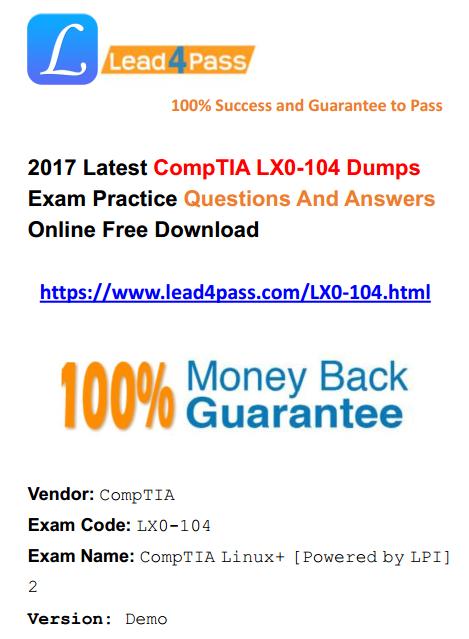 LX0-104 dumps