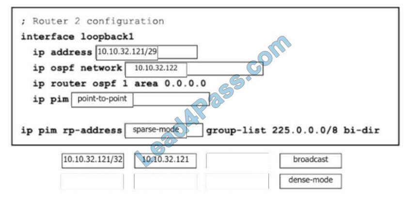 [2021.2] lead4pass 350-601 exam questions q6-2