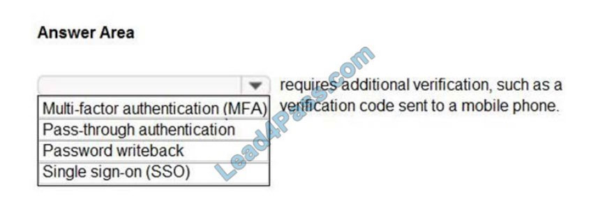 microsoft sc-900 exam questions q9